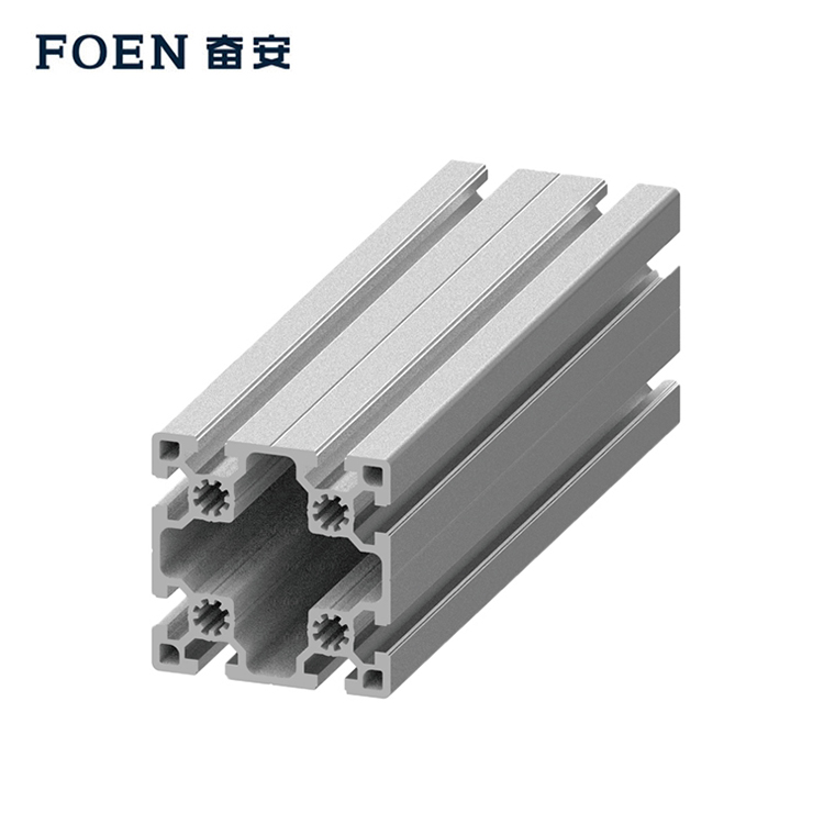 Anodized aluminum extrusion profiles