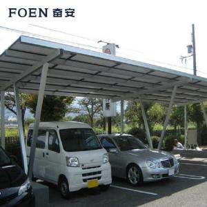 Solar carport rack mount
