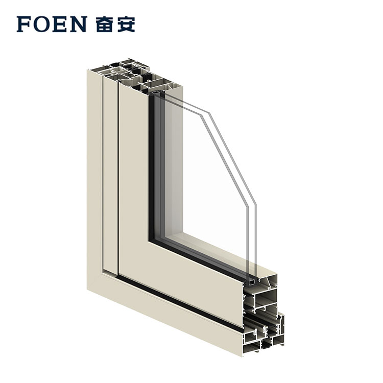 Aluminium folding doors and windows
