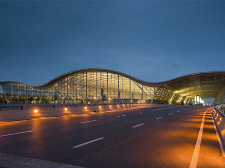shanghai pudong internationale luchthaven